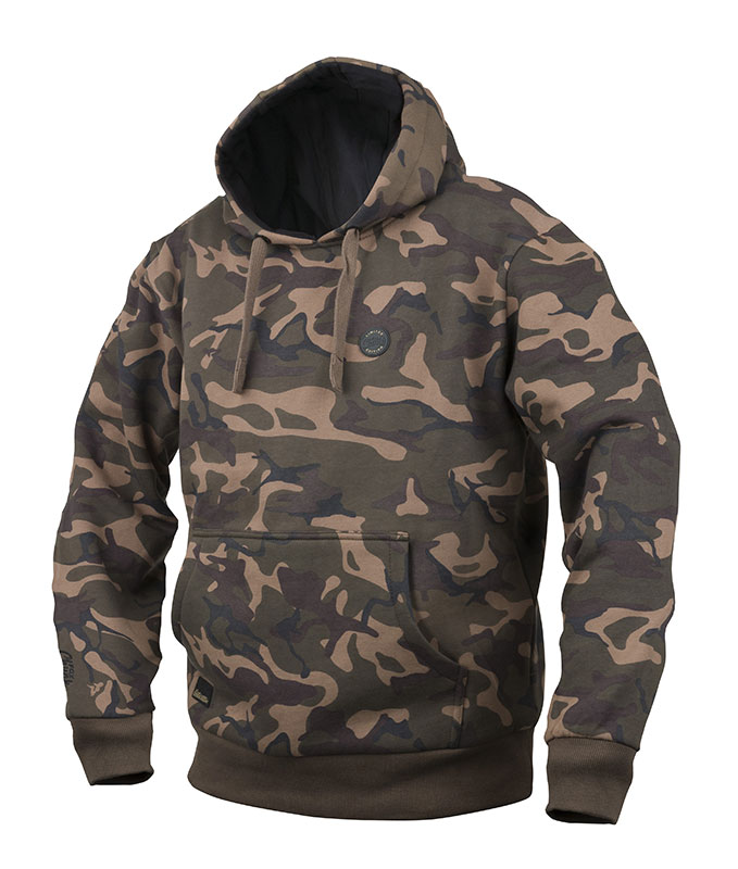 Fox chunk limited edition camo lined hoody fishing for Camo fishing shirt
