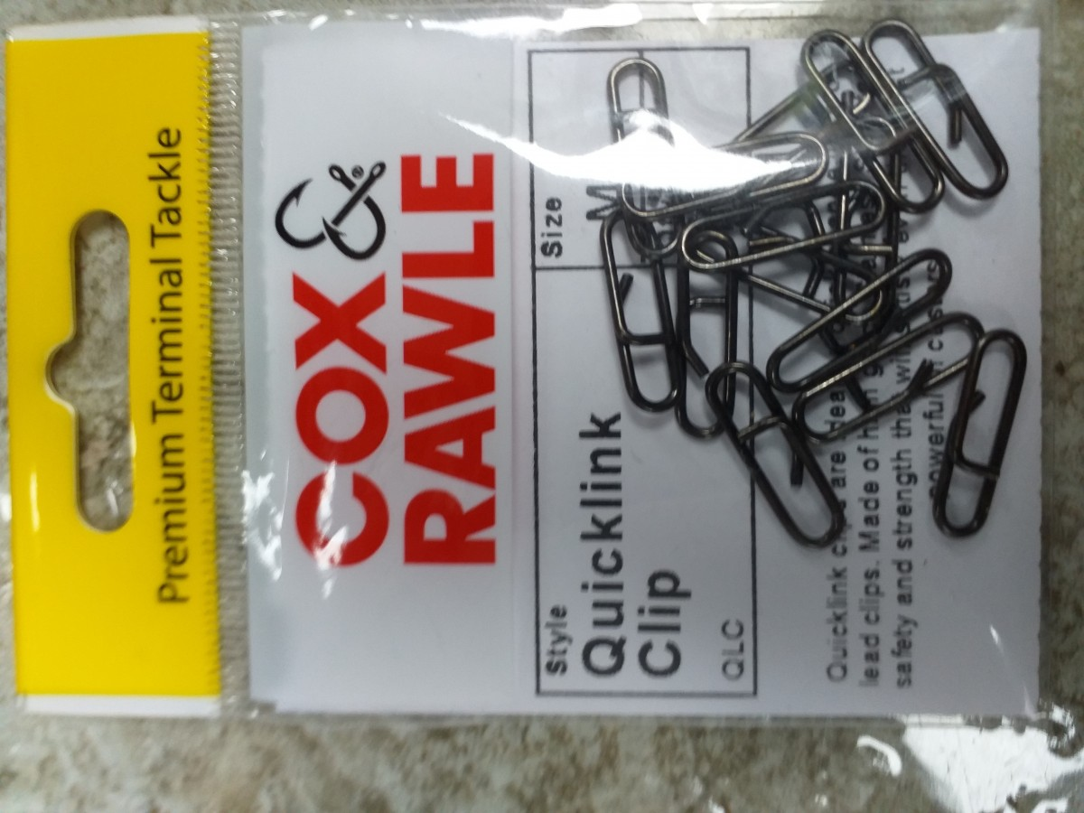 Cox and Rawle Quick Links size Large