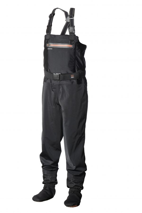 Scierra X-Stretch Chest Waders with X-Force Wading Shoe Cleated with Studs