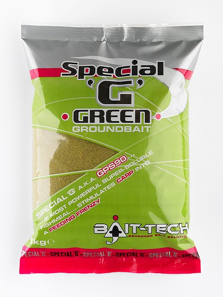 bait tec special g green groundbait
