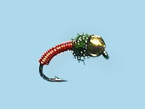 Turrall Bead Head Brassie Red