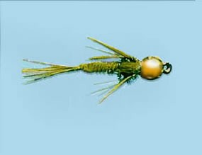 Turrall Bead Head Pheasant Tail Olive