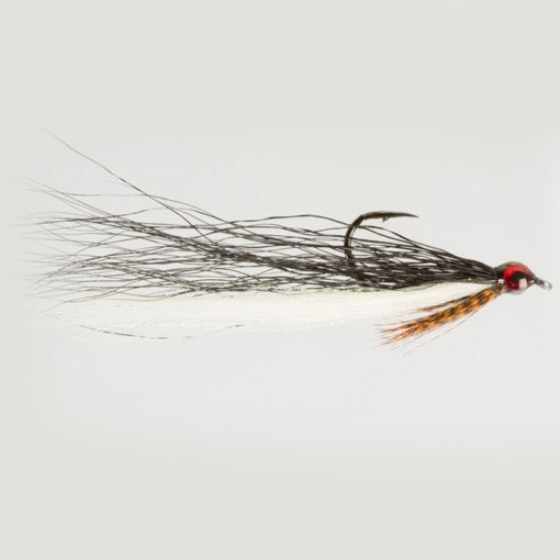 Dom Garnett Drop Shot Minnow Black and White Size 2