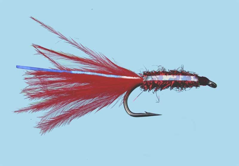 Turrall Brite Lite Mini Lure Red Size 10