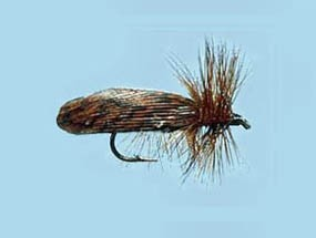 Turrall Caddis (Sedge) Brown