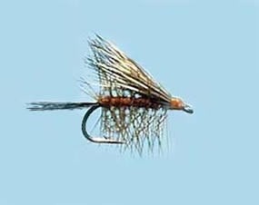 Turrall Caddis (Sedge) Buck Caddis Dark - Size 14