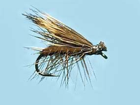 Turrall Caddis (Sedge) Elk Hair Brown