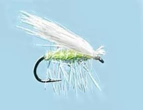 Turrall Caddis (Sedge) Elk Hair Green/White