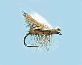 Turrall Caddis (Sedge) Elk Hair Hi-Vis Tan