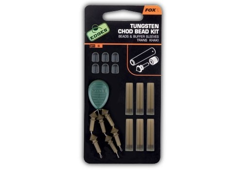 Fox Tungsten Chod Bead Kit Khaki
