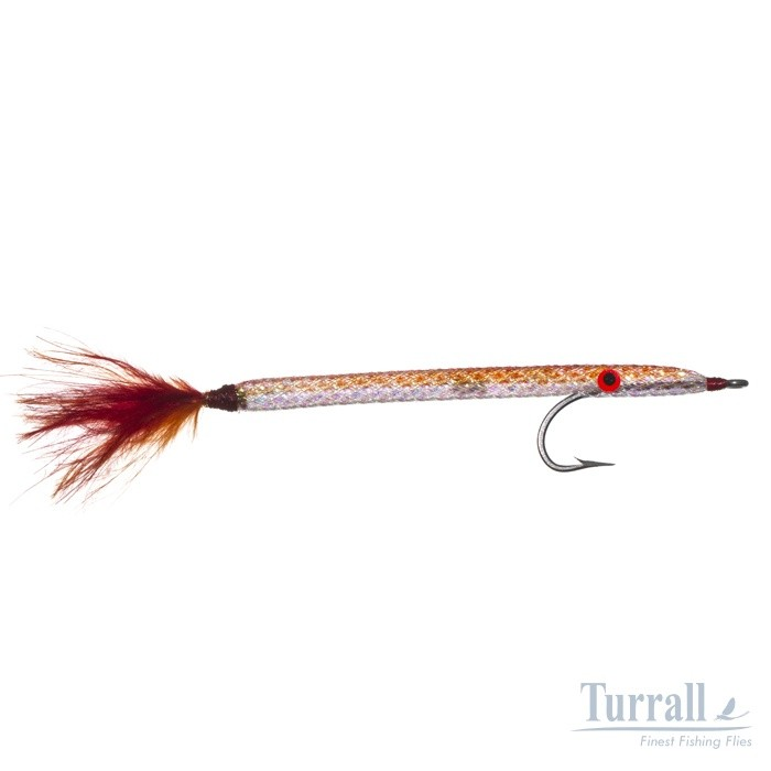 Turrall Needlefish Copper Premium Saltwater Fly Size 1/0