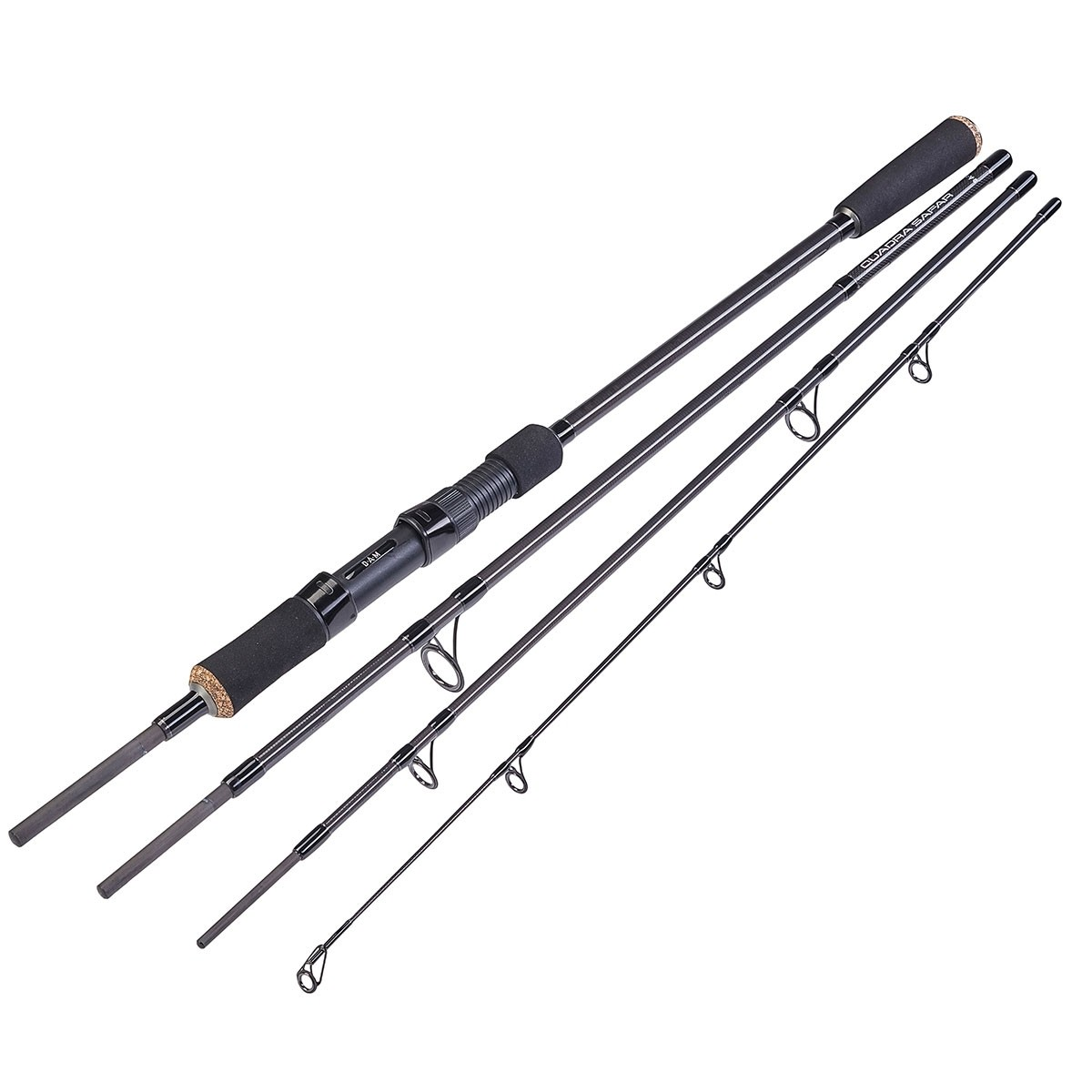 with its quality responsive blank the  Dam Quadra Safar travel spinning rod is the ideal travelling companion for that Big Game fishing trip