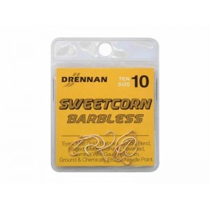 Drennan Sweetcorn Barbless Hooks