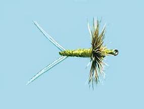 Turrall Dry Winged Comparadun-Olive
