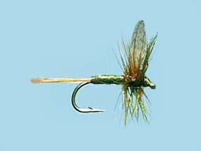 Turrall Dry Winged Medium Olive Dun - Size 14