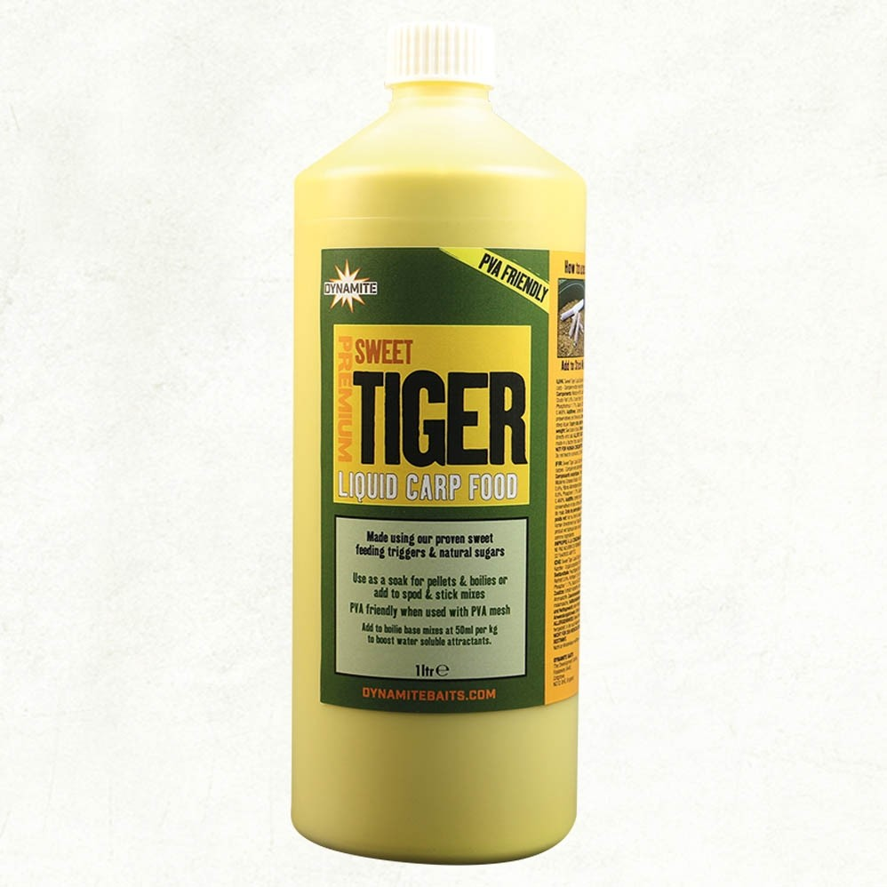 Dynamite Premium Sweet Tiger liquid carp food 1litre