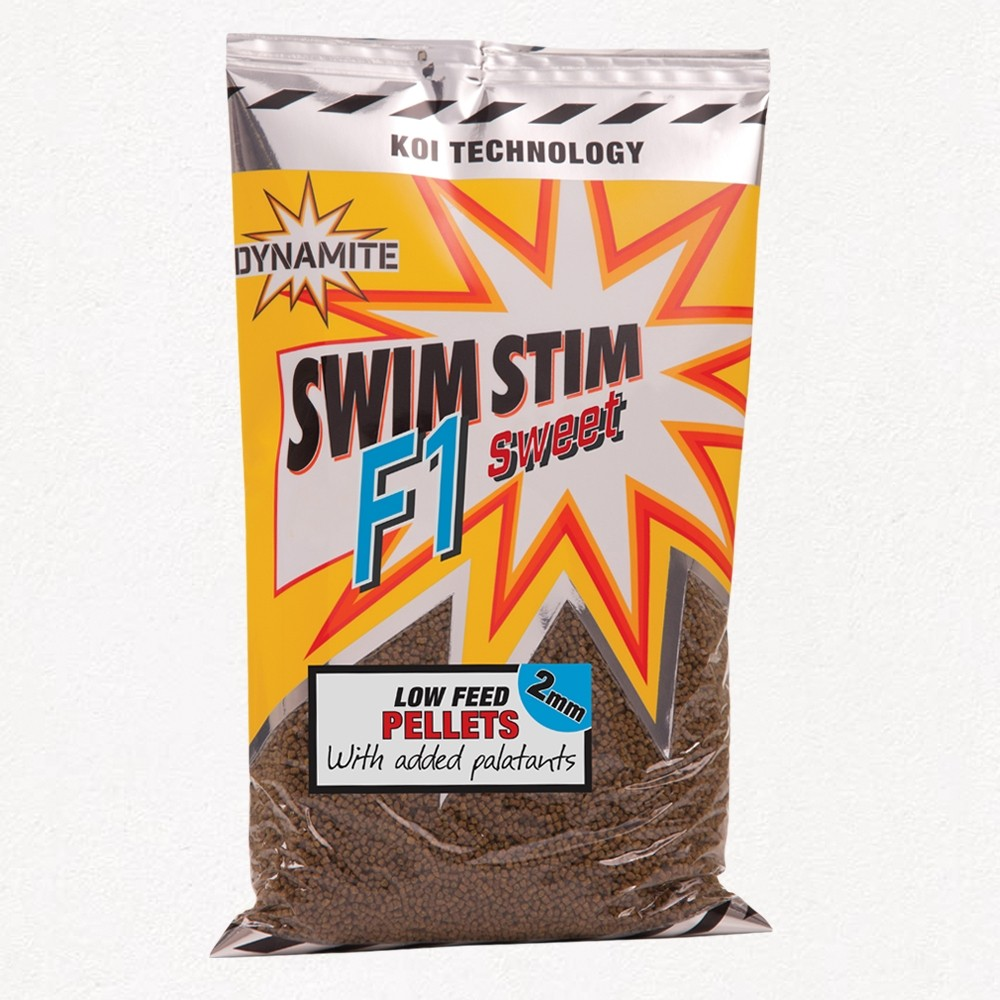 Dynamite Baits Swim Stim F1 Sweet low feed pellets
