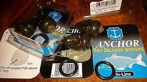 Anchor bait delivery systems