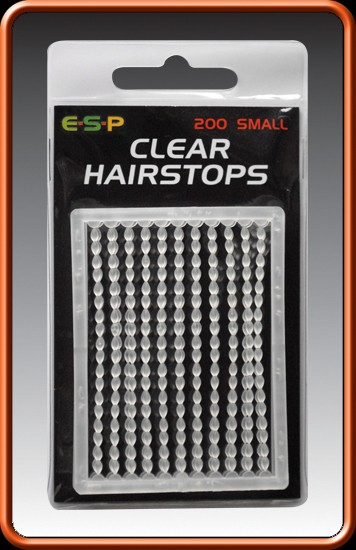 clear hairstops