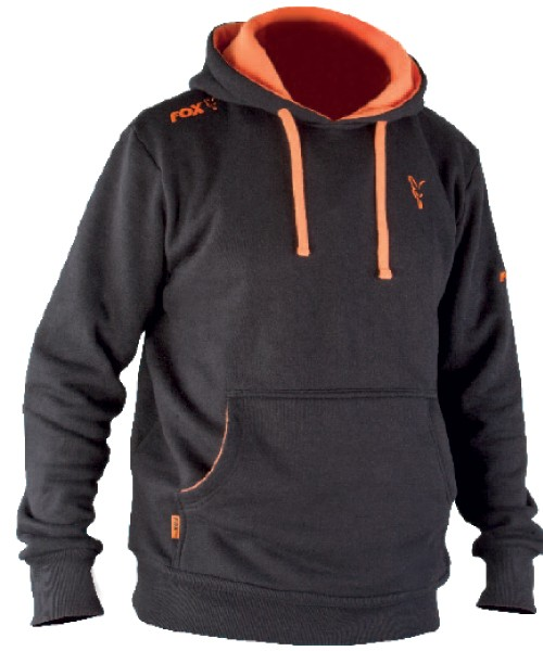 Fox Black & Orange Hoody