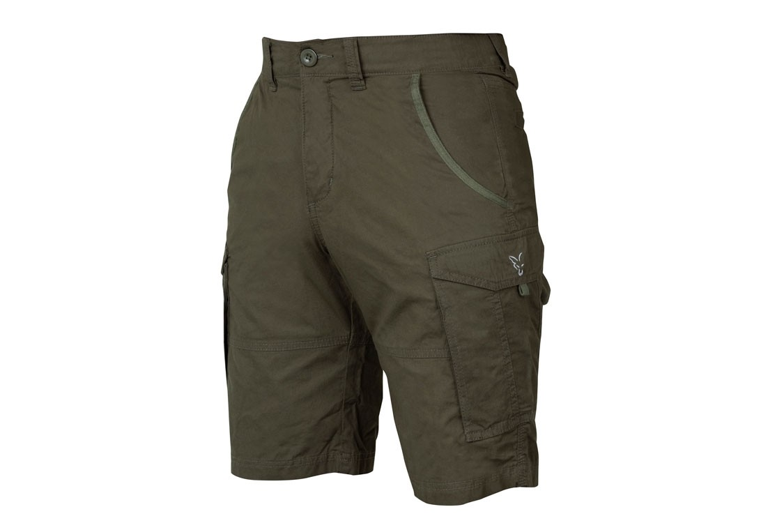 Fox Collection Combat Short's Green/Silver Size Small