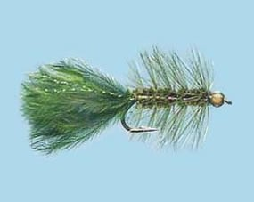 Turrall Gold Head Bugger Olive Size 8