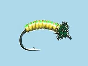 Turrall Juicy Grub Lime Lemon Size 12