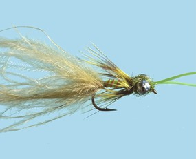 Turrall Kicking Damsel Olive Size 10