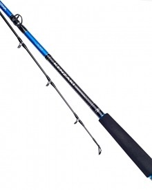 Daiwa Super Kenzaki Z Travel boat rod 3 piece 40-60lb SKZB6660-3-BU