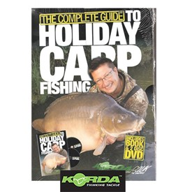 Korda Complete Guide To Holiday Carp Fishing Book & 2 Disc Dvd