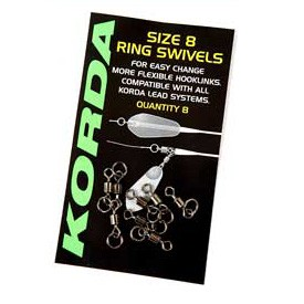 Korda Size 11 Ring Swivels