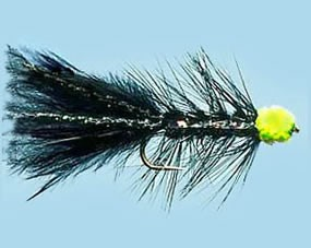 Turrall Egg Sucking Chartreuse Leech Size 6