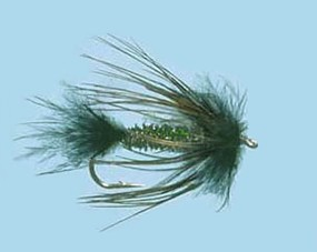 Turrall Streamer/Lure Sparrow Peacock - Size 8