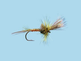 Turrall Mayfly Green Drake Cripple Size 10