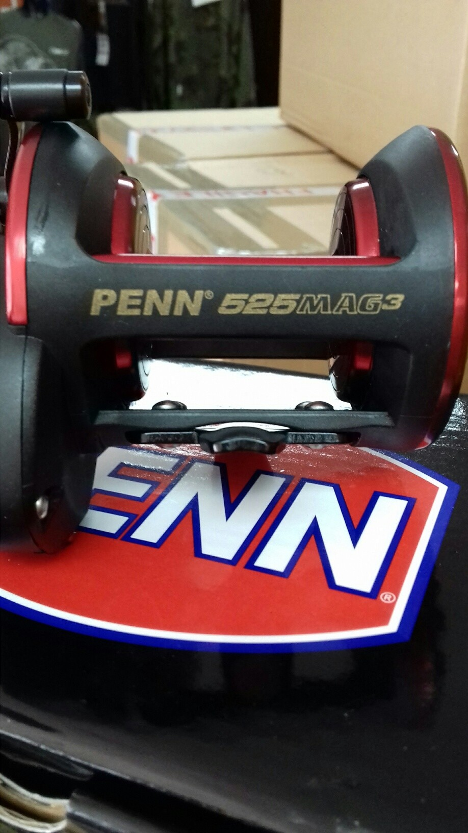 the brand new Penn 525 Mag3 with its stainless steel gear upgraded HT-100 Drag washers it is sure to prove a winner this season