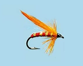 Turrall Mini Lure Whiskey Fly Size 12