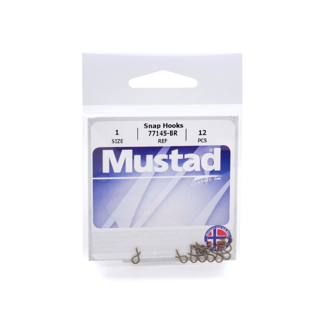 Mustad  77145-BR Size 2