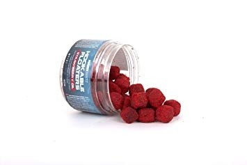 Nash Bait Upper Layers Strawberry Oil Hookable Floaters 40g