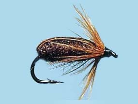 Turrall Standard Nymph Brown - Size 12