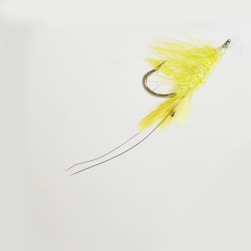 Wes Ower Sea Trout/Salmon Pattegrisen Shrimp yellow