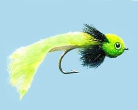 Turrall Pike Fly Widower Chartreuse Size 3/0