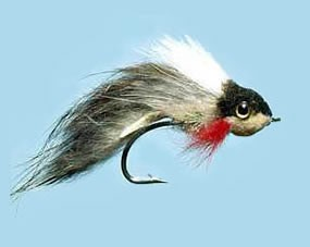 Turrall Pike Fly Widower Two Faced Size 3/0
