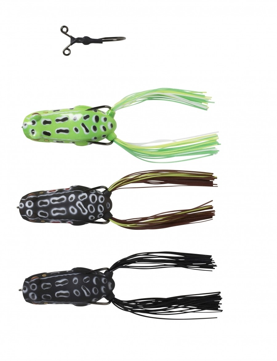 Savage Gear Pop Frog Stinger hook included