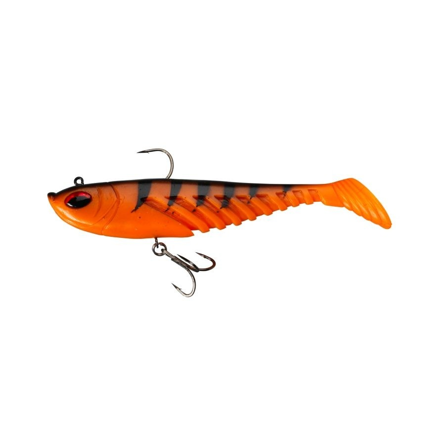 Berkley Powerbait Prerigged Giant Ripple 16cm Orange Black