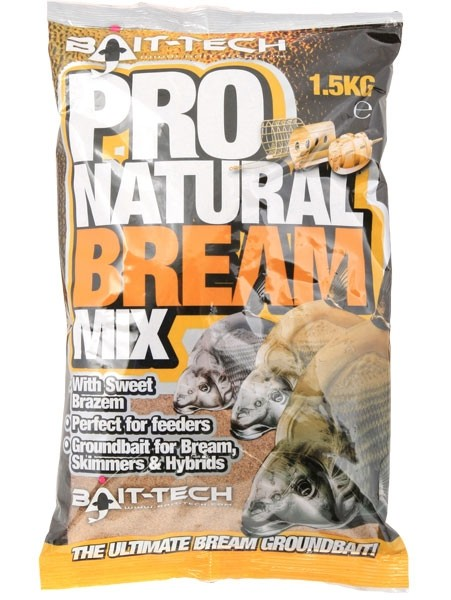 Bait Tech Pro Natural Groundbait Bream Mix