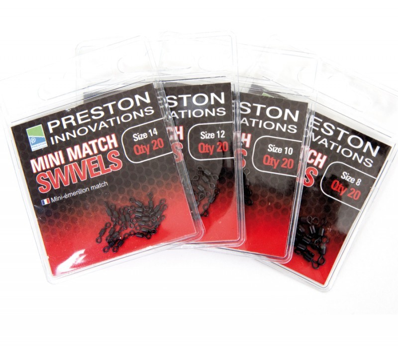 Preston Innovations Mini Match Swivels