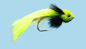 Turrall Widower Chartreuse Premium Saltwater Fly In Size 3/0