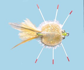 Turrall Epoxy Rag Head Crab Premium Saltwater Fly