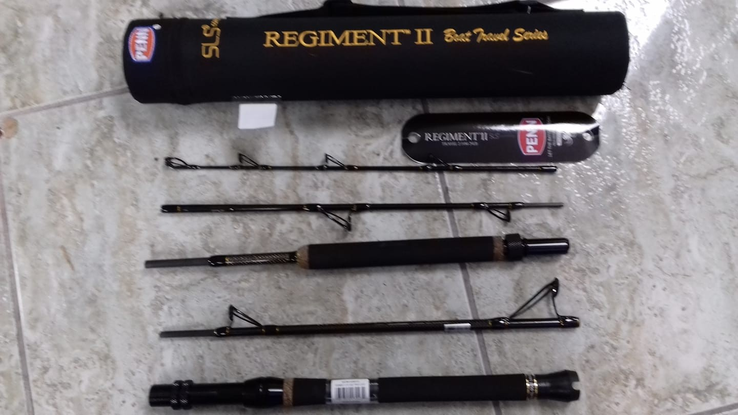 Penn Regiment II Boat travel rod 50lb 7ft 5 piece