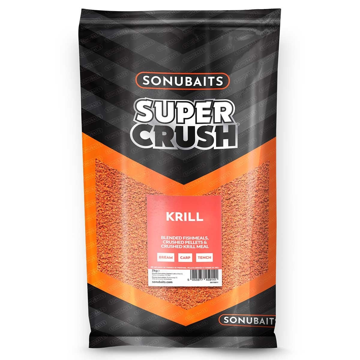 Sonubait Krill Supercrush Groundbait 2kg